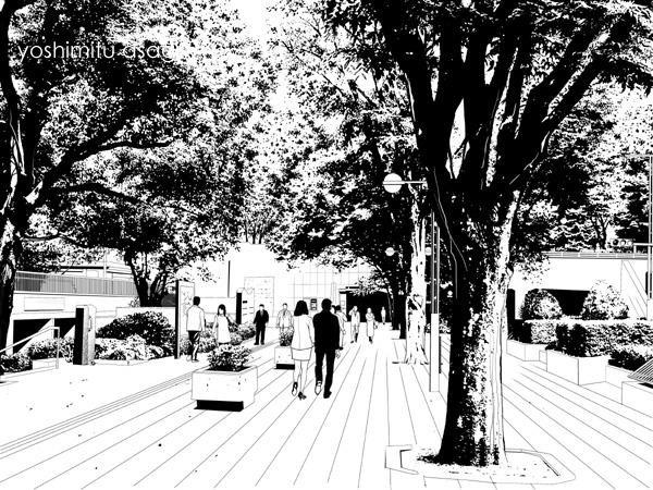 新宿歩道4
