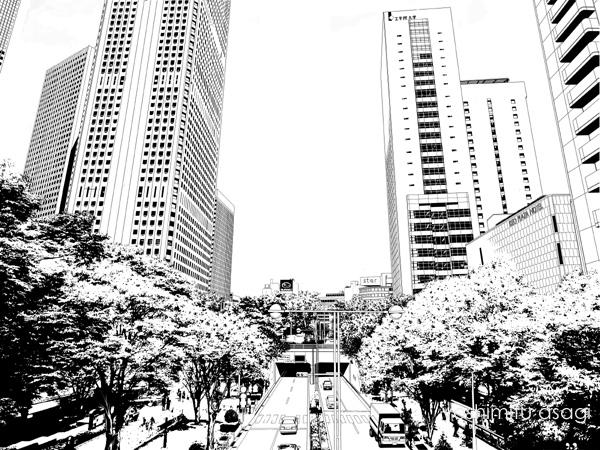 新宿歩道3
