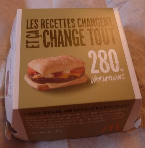 フランスのマクドナルド