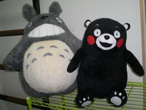 トトロ&くまモン