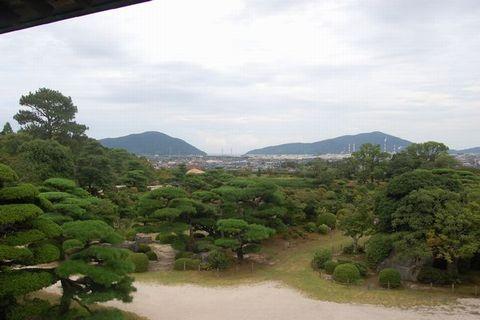 ブログ用・毛利庭園4
