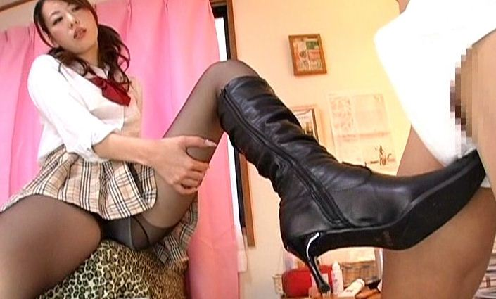 ロングブーツの女に犯されたい 責め・ブーツこき・SEX・痴女行為・妄想フェチのサンプル画像3