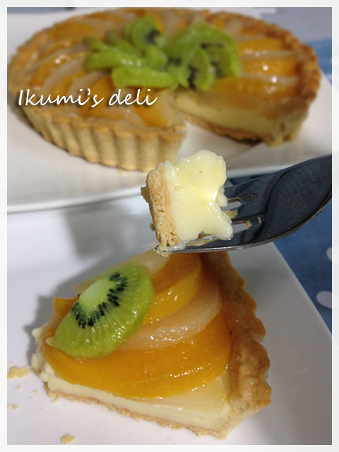 IMG_2168フルーツタルト食べる