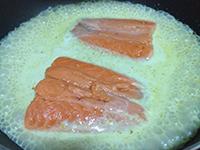 IMG_6589サーモンとカティ煮る