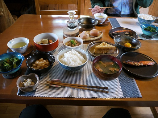 タンポポハウス朝食