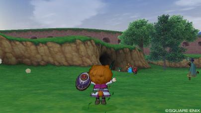 フェルアバの洞窟入口