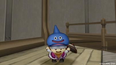 顔の見えるスライム帽☆