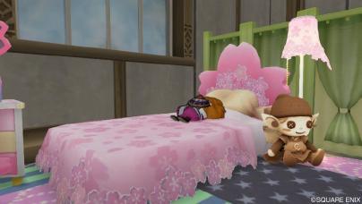 お気に入りのベッド周辺♪