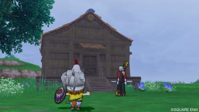 プクレット地方の小屋
