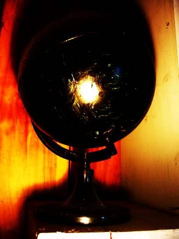 黒い地球儀360