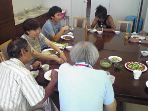 2012年8月19日食事風景2