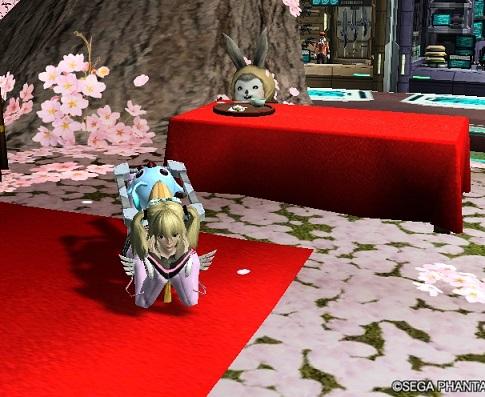 桜ロビー4