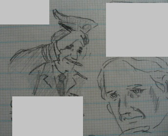 ヒルデブラント将軍とローランド博士