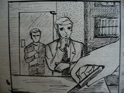 ダグラスとヨーハンの手