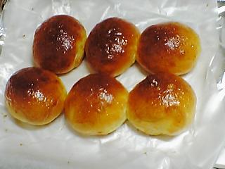 久しぶりに作ったパン