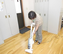ハウス 掃除機①
