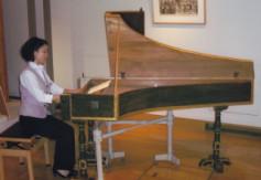 イタリア製チェンバロ・楽器博