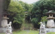 神武天皇東征記念碑のある場所