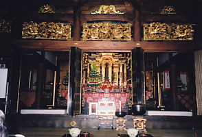 西福寺・須彌壇