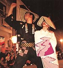 八尾・おわら節の踊り