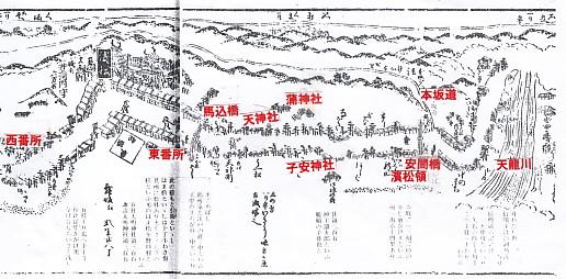 繪圖・濱松~天龍川