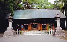 蒲神明宮・拝殿