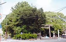 蒲神明宮・入口