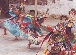 ブータンの祭・シャナ・チャム