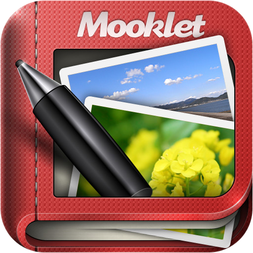 Mooklet - that allows you to create animated story photo-bo