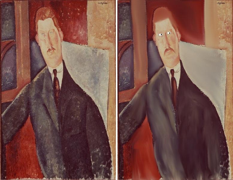セルジェ氏の肖像 モディリアーニ