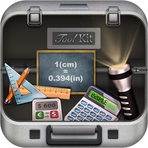 ToolKit - Flashlight,Calculator,Ruler,Currency Exchanger,Un