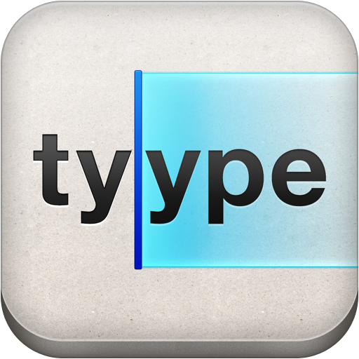 Tyype - gesture based text editor with Dropbox support