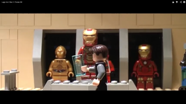 Lego Iron Man 3 Trailer azatogori