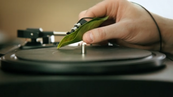 A Duet for Leaves Turntable