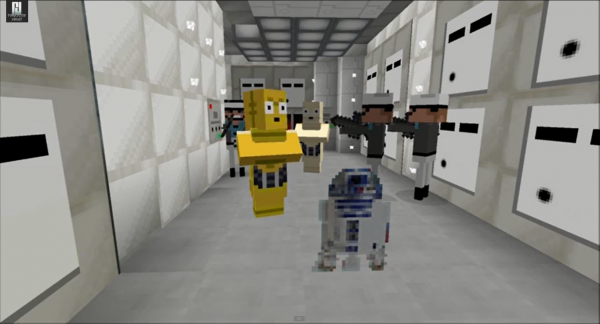 Minecraft fan to recreate Star Wars - A New Hope!