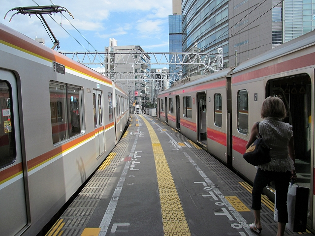 東京メトロの試運転車_2