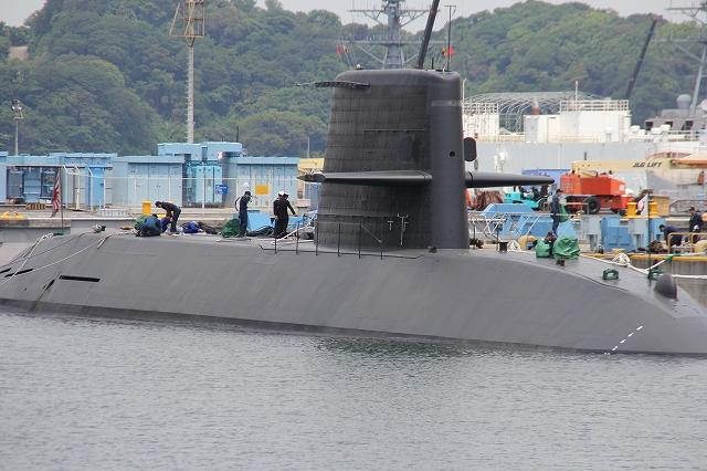 潜水艦の着桟まで_8