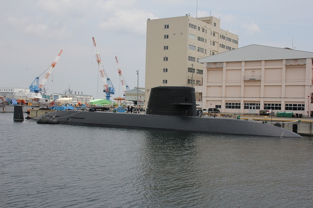 潜水艦の着桟まで_9