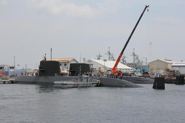 潜水艦の着桟まで_10