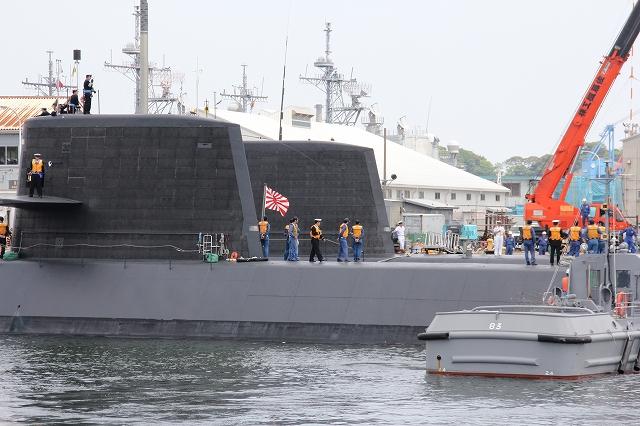 潜水艦の着桟まで_11