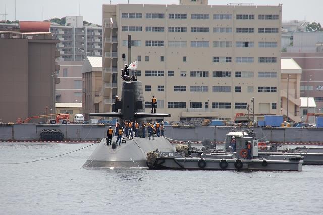 潜水艦の着桟まで_14