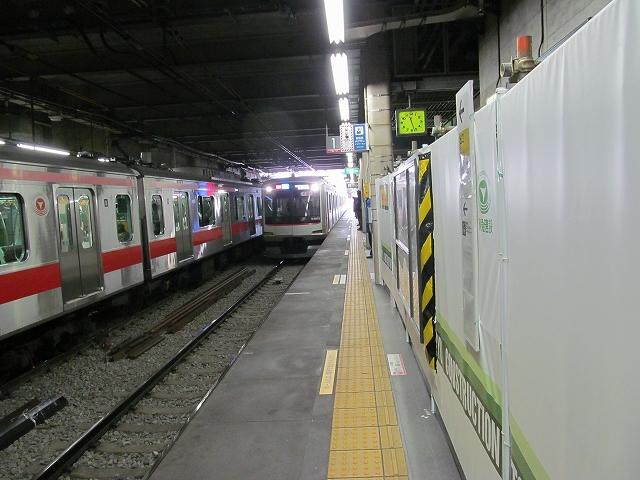 代官山駅の工事_2