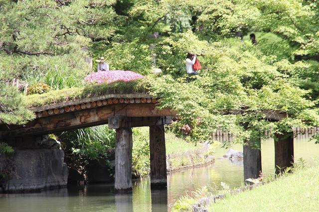 六義園の橋_3