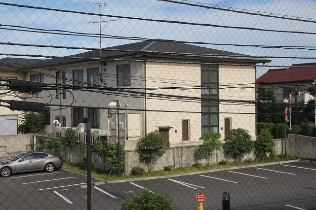 Denny'sから見たケニア大使館
