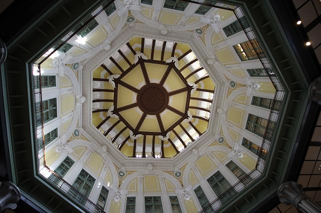 ドームの天井部分