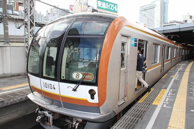 東京メトロ10000系による東急東横線での先行営業運転_6