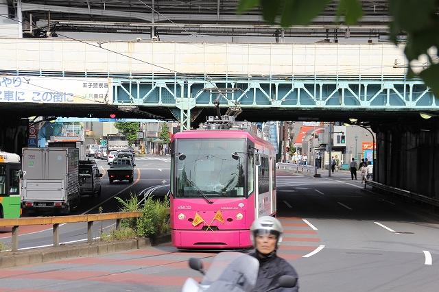 王子駅前からの急坂_7