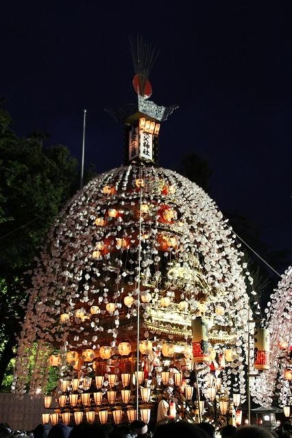 中近笠鉾_特別曳行時(10/07)の晴れ姿_2