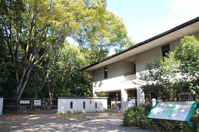 自然教育園入り口_2