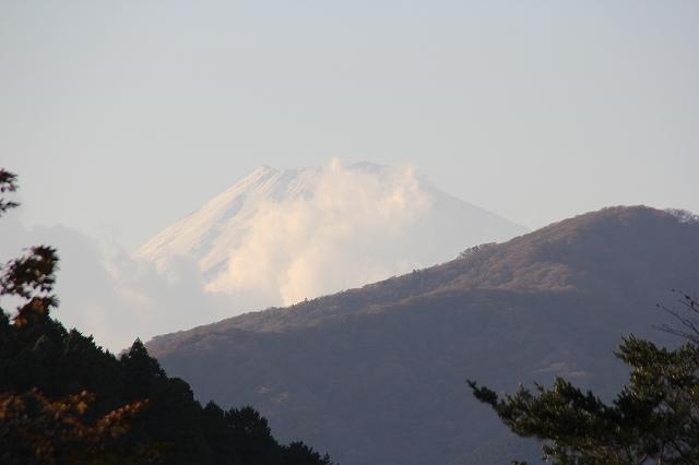 姿を表した富士山_1